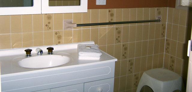 Lake Edge Holiday Units Unit 7 Bathroom